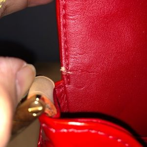 Louis Vuitton Bags - Louis Vuitton Red Monogram Vernis Thompson